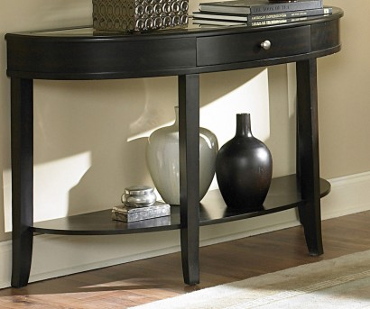 Homelegance Brooksby Ebonized Cherry Sofa Table Available Online in Dallas Fort Worth Texas
