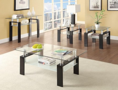 Coaster The Contempo 3pc Coffee Table Set Available Online in Dallas Fort Worth Texas