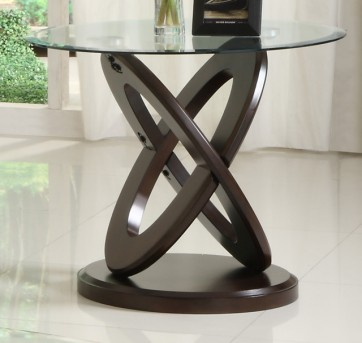 Homelegance Firth Cherry End Table Available Online in Dallas Fort Worth Texas