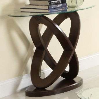 Homelegance Firth Cherry Sofa Table Available Online in Dallas Fort Worth Texas