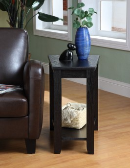 Homelegance Elwell Black Chairside Table Available Online in Dallas Fort Worth Texas