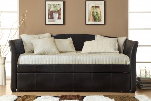 Homelegance Meyer Dark Brown Daybed Available Online in Dallas Fort Worth Texas