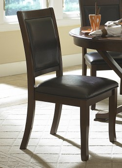 Homelegance Helena Dark Brown Side Chair Available Online in Dallas Fort Worth Texas