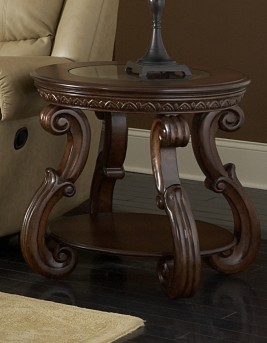 Homelegance Cavendish Cherry End Table Available Online in Dallas Fort Worth Texas