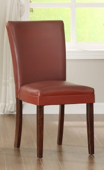 Homelegance Belvedere Red Side Chair Available Online in Dallas Fort Worth Texas