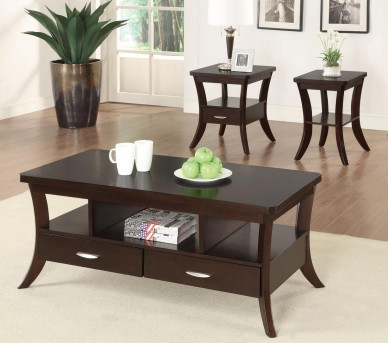 Coaster The Coventry 3pc Coffee Table Set Available Online in Dallas Fort Worth Texas