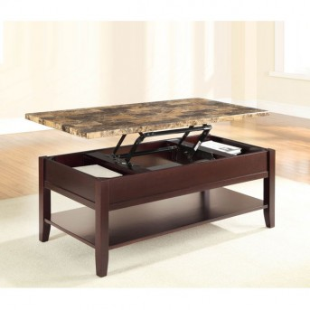 Homelegance Orton Cherry Lift Top Coffee Table Available Online in Dallas Fort Worth Texas