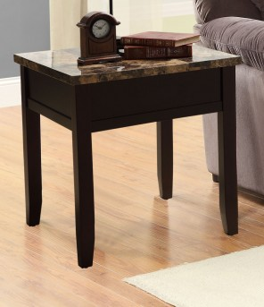Homelegance Orton Cherry End Table Available Online in Dallas Fort Worth Texas