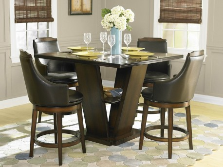 Homelegance Bayshore 5pc Counter Height Dining Room Set Available Online in Dallas Fort Worth Texas