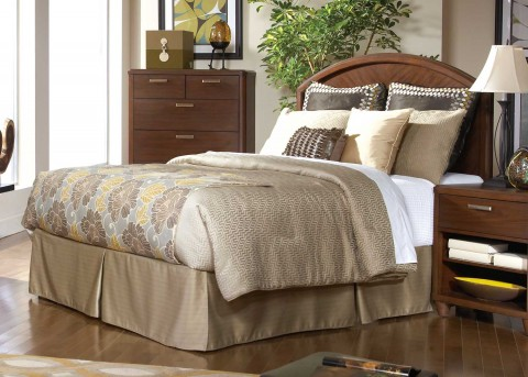 Homelegance Beaumont Brown Cherry Cal King / King Headboard Available Online in Dallas Fort Worth Texas