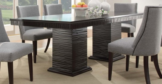 Homelegance Chicago Dining Table Available Online in Dallas Fort Worth Texas