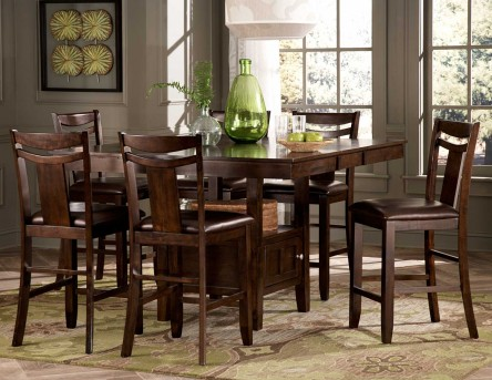 Homelegance Broome 7pc Counter Height Dining Room Set Available Online in Dallas Fort Worth Texas