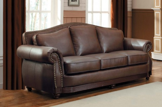 Homelegance Midwood Brown Sofa Available Online in Dallas Fort Worth Texas