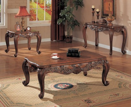 Coaster Garner 3pc Coffee Table Set Available Online in Dallas Fort Worth Texas