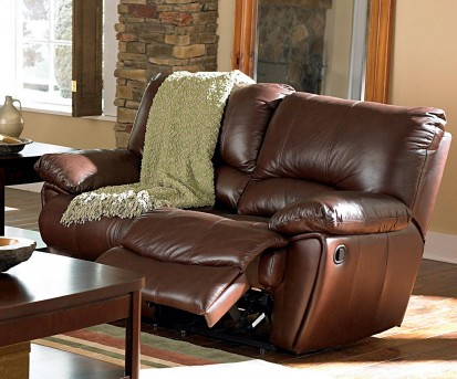 Coaster Clifford Brown Double Reclining Loveseat Available Online in Dallas Fort Worth Texas