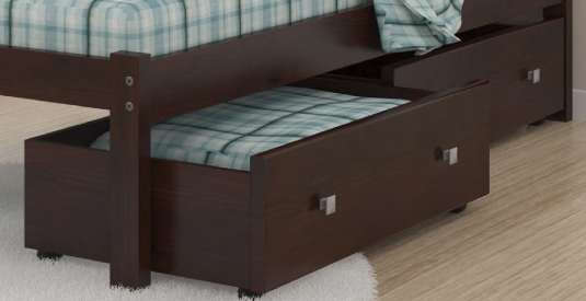Donco Cappuccino Under Bed Storage Available Online in Dallas Fort Worth Texas