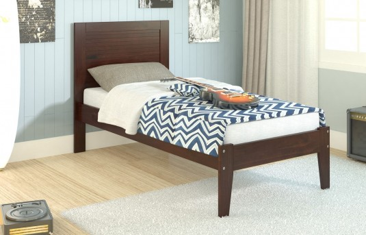 Donco Cappuccino Twin Panel Bed Available Online in Dallas Fort Worth Texas