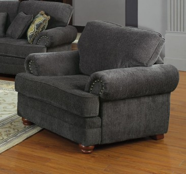 Coaster Colton Smokey Grey Chair Available Online in Dallas Fort Worth Texas