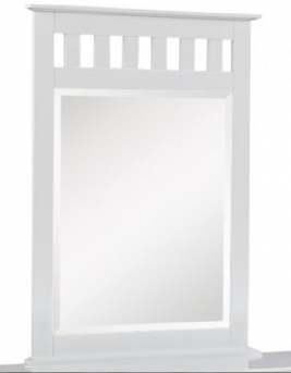 White Mission Mirror Available Online in Dallas Fort Worth Texas