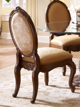 AICO Lavelle Melange Side Chair Available Online in Dallas Fort Worth Texas