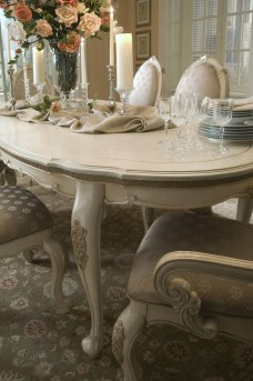AICO Lavelle Oval Leg Dining Table Available Online in Dallas Fort Worth Texas