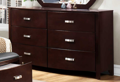Homelegance Lyric Espresso Dresser Available Online in Dallas Fort Worth Texas