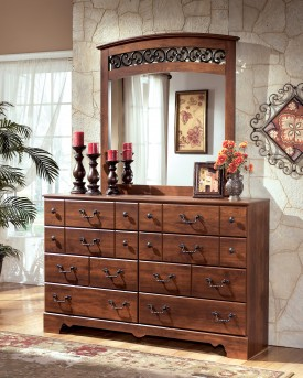 Ashley Timberline Dresser Available Online in Dallas Fort Worth Texas