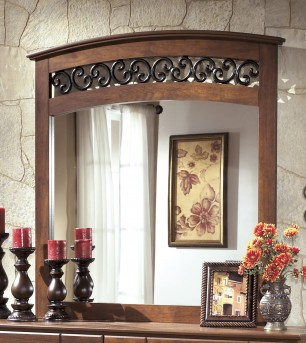 Ashley Timberline Mirror Available Online in Dallas Fort Worth Texas