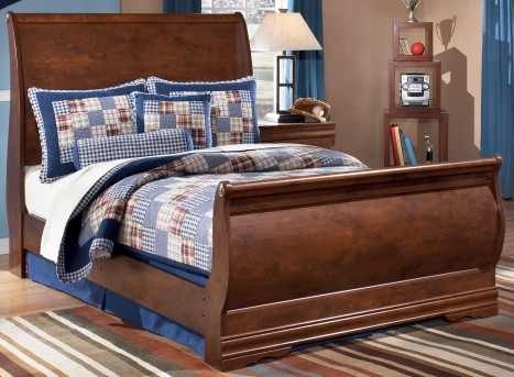 Wilmington Full Sleigh Bed Available Online in Dallas Fort Worth Texas