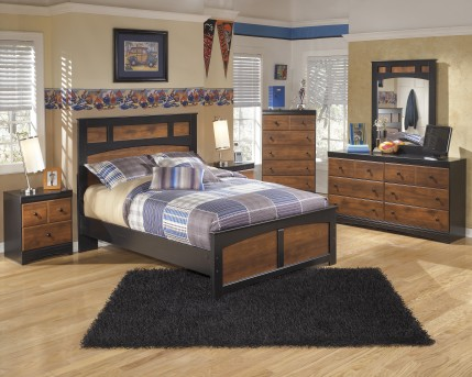 Ashley Aimwell 5pc Full Panel Bedroom Group Available Online in Dallas Fort Worth Texas