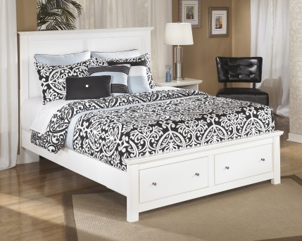 Ashley Bostwick Shoals Queen Platform Storage Bed Available Online in Dallas Fort Worth Texas