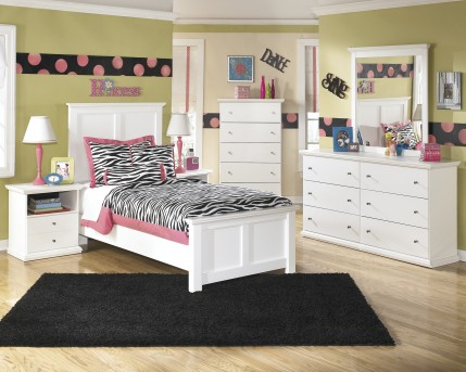 Ashley Bostwick Shoals 5pc Twin Panel Bedroom Group Available Online in Dallas Fort Worth Texas