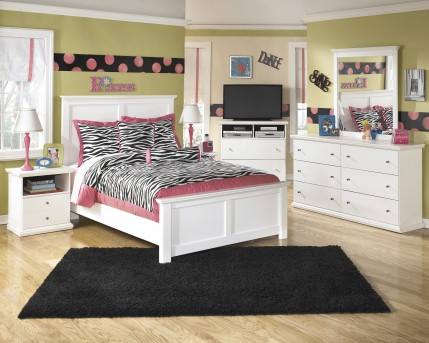 Ashley Bostwick Shoals 5pc Full Panel Bedroom Group Available Online in Dallas Fort Worth Texas