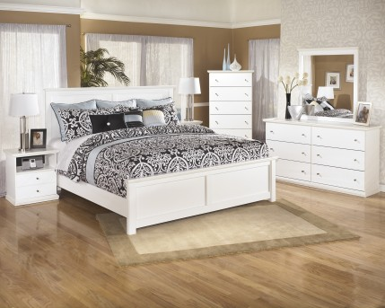 Ashley Bostwick Shoals 5pc King / Cal King Panel Bedroom Group Available Online in Dallas Fort Worth Texas