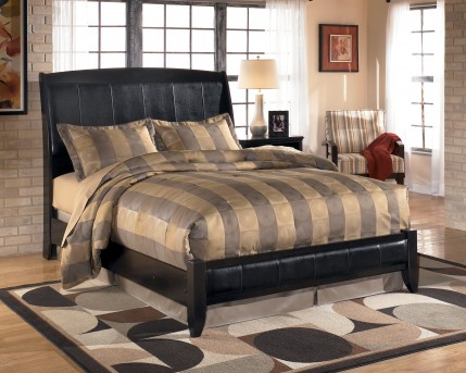 Ashley Harmony Queen Sleigh Bed Available Online in Dallas Fort Worth Texas