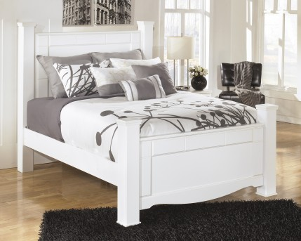 Ashley Weeki Queen Poster Bed Available Online in Dallas Fort Worth Texas