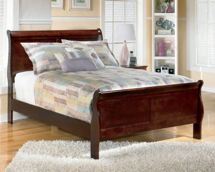Ashley Alisdair Queen Sleigh Bed Available Online in Dallas Fort Worth Texas