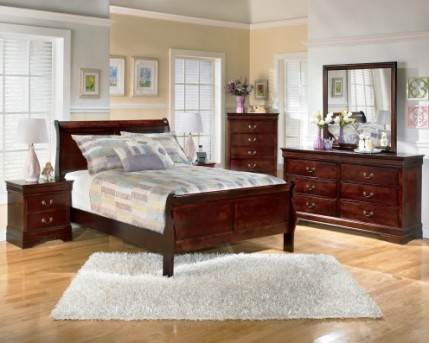 Ashley Alisdair 5pc King Sleigh Bedroom Group Available Online in Dallas Fort Worth Texas