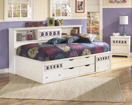 Ashley Zayley Twin Bookcase Storage Bed Available Online in Dallas Fort Worth Texas
