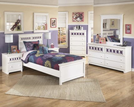 Ashley Zayley 5pc Twin Panel Bedroom Group Available Online in Dallas Fort Worth Texas