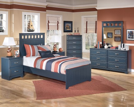 Ashley Leo 5pc Twin Panel Bedroom Group Available Online in Dallas Fort Worth Texas