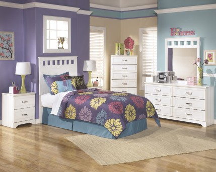 Ashley Lulu 5pc Full Panel Bedroom Group Available Online in Dallas Fort Worth Texas