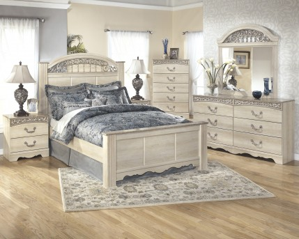 Ashley Catalina 5pc King Poster Bedroom Group Available Online in Dallas Fort Worth Texas