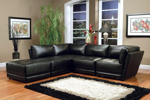 Coaster Kayson Black 5pc Modular Sectional Available Online in Dallas Fort Worth Texas