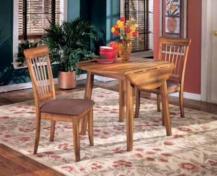Ashley Berringer 3pc Drop Leaf Dining Room Set Available Online in Dallas Fort Worth Texas