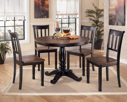 Ashley Owingsville 5pc Round Dining Room Set Available Online in Dallas Fort Worth Texas