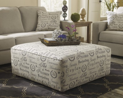 Ashley Alenya Oversized Accent Ottoman Available Online in Dallas Fort Worth Texas