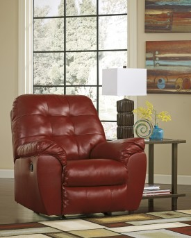 Ashley Alliston DuraBlend Rocker Recliner Available Online in Dallas Fort Worth Texas