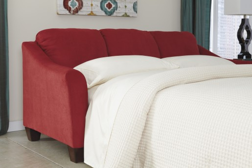 Hannin Red Queen Sleeper Sofa Available Online in Dallas Fort Worth Texas