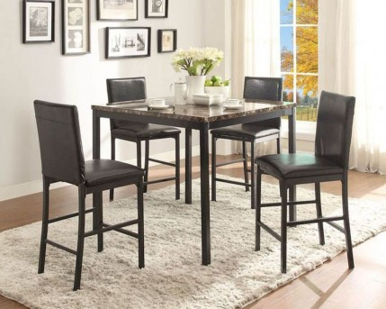 Homelegance Tempe 5pc Counter Height Dining Room Set Available Online in Dallas Fort Worth Texas